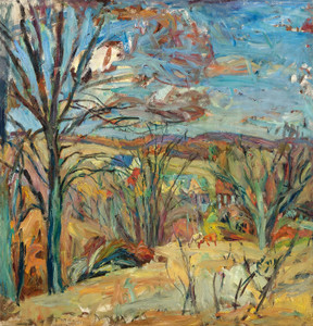 Art Prints of Autumn Landscape II by Abraham Manievich