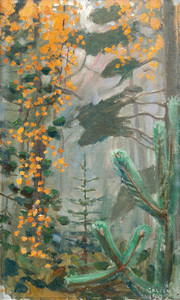 Art Prints of Autumn Forest by Akseli Gallen-Kallela