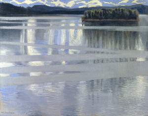 Art Prints of Lake Keitele by Akseli Gallen-Kallela