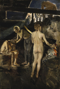 Art Prints of In the Sauna by Akseli Gallen-Kallela