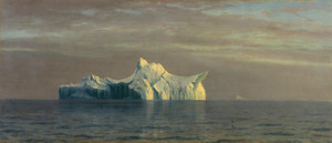 Art Prints of Iceberg by Albert Bierstadt