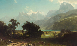 Art Prints of Lake Lucerne by Albert Bierstadt