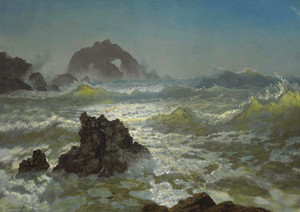 Art Prints of Seal Rock California by Albert Bierstadt