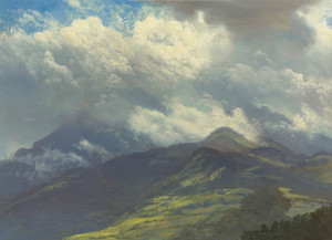 Art Prints of Storm Clouds by Albert Bierstadt