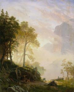 Art Prints of The Merced River in Yosemite by Albert Bierstadt