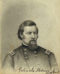 Art Prints of John M. Palmer Major General Brooks (22324L) by Alden Finney