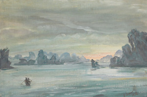 Art Prints of Halong Bay, Vietnam by Alexander Evgenievich Yakovlev