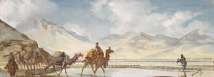 Art Prints of Lake Basi Koul by Alexander Evgenievich Yakovlev