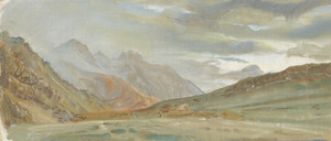 Art Prints of View of Beyick II by Alexander Evgenievich Yakovlev