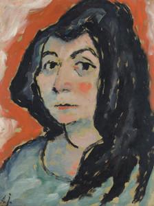 Art Prints of Helene with Her Hair Down by Alexej Von Jawlensky