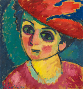 Art Prints of Red Hat by Alexej Von Jawlensky