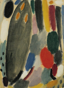 Art Prints of Variation, Mourning, 1918 by Alexej Von Jawlensky