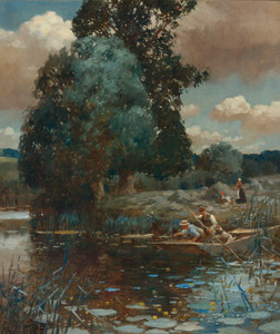 Art Prints of A Summer Afternoon by Alfred James Munnings