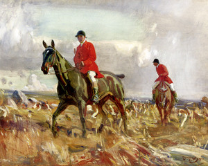 Art Prints of Crossing the Moor by Alfred James Munnings