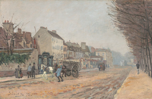 Art Prints of Boulevard Heloise, Argenteuil by Alfred Sisley