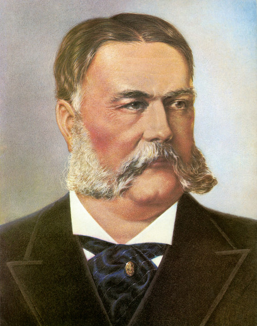 Art Prints of Chester Arthur, Presidential Portraits