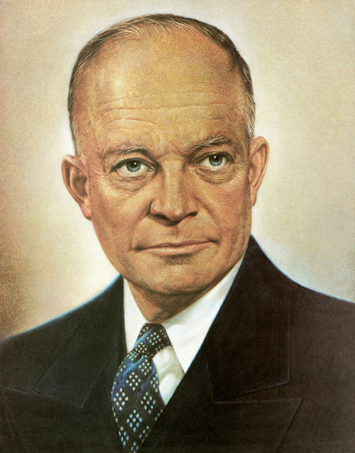 Art Prints of Dwight D. Eisenhower, Presidential Portraits
