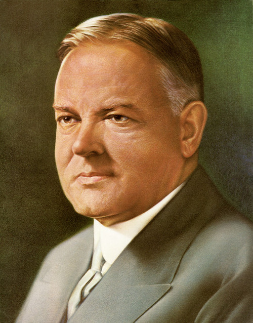 Art Prints of Herbert Hoover, Presidential Portraits
