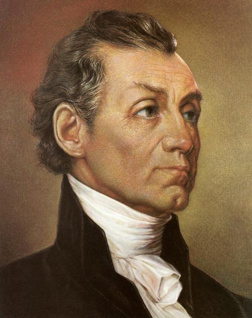 Art Prints of James Monroe, Presidential Portraits