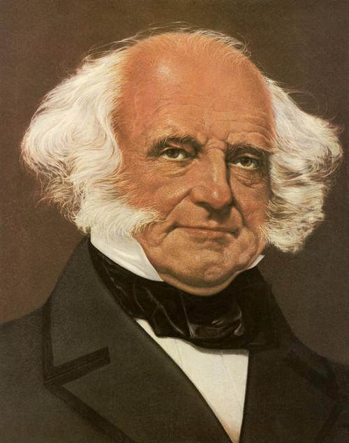 Art Prints of Martin Van Buren, Presidential Portraits