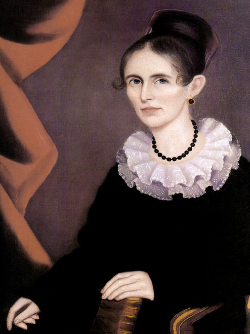 Art Prints of Portrait of Sarah Mynderse Campbell, 1820 by Ammi Phillips