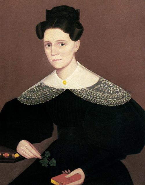 Art Prints of Mrs. Issac Cox by Ammi Phillips