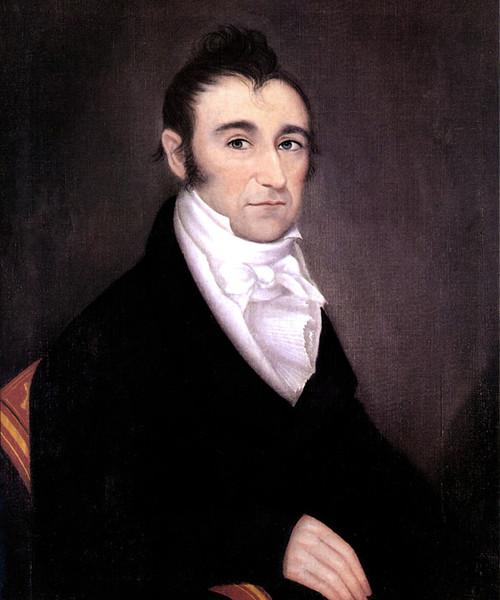 Art Prints of Portrait of Samuel Robert Campbell, 1820 by Ammi Phillips