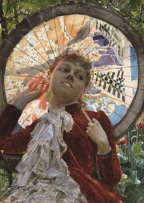 Art Prints of Castles in the Air by Anders Zorn
