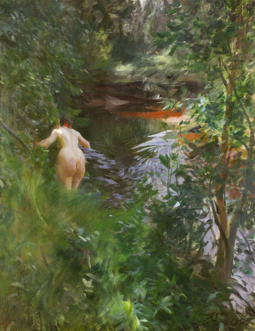 Art Prints of In Gopsmor, 1905 by Anders Zorn