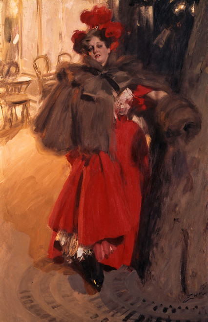 Art Prints of Night Effect by Anders Zorn
