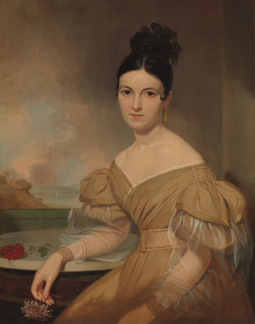 Art Prints of Portrait of Mrs. Winfield Scott 1831 by Asher Brown Durand