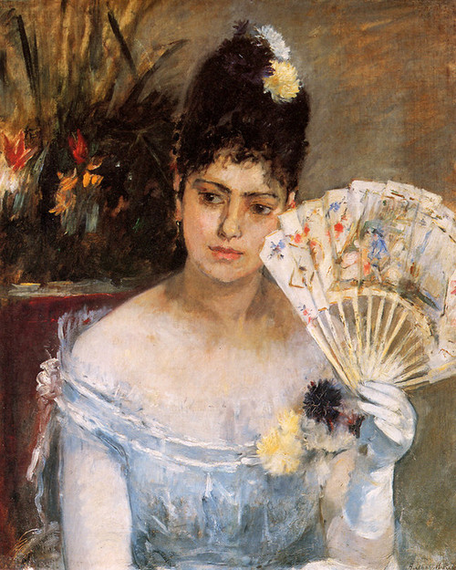 Art Prints of At the Ball by Berthe Morisot