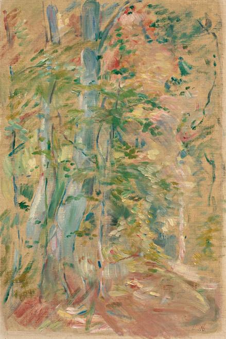 Art Prints of Forest Study by Berthe Morisot