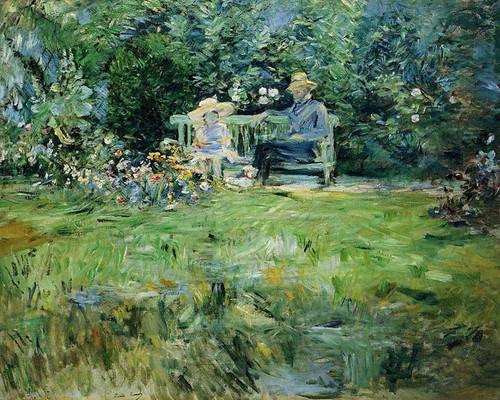 Art Prints of Jeanne Pontillon Wearing a Hat by Berthe Morisot