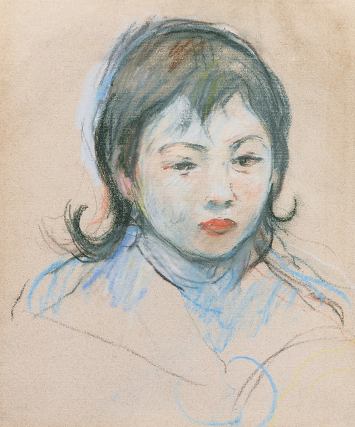 Art Prints of Portrait of Charly Thomas by Berthe Morisot