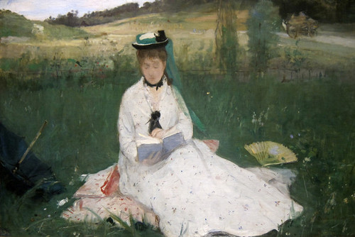 Art Prints of Reading by Berthe Morisot