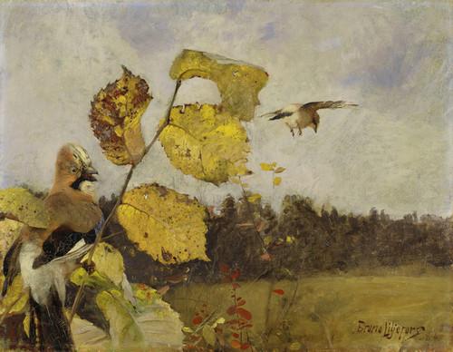 Art Prints of Jays by Bruno Liljefors