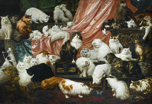Art Prints of My Wife's Lovers by Carl Kahler
