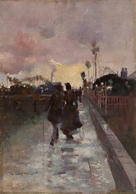 Art Prints of Going Home, the Gray and Gold by Charles Conder