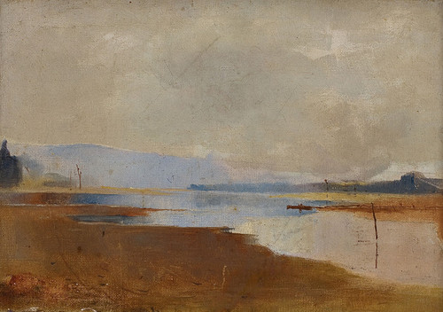 Art Prints of River Landscape by Charles Conder