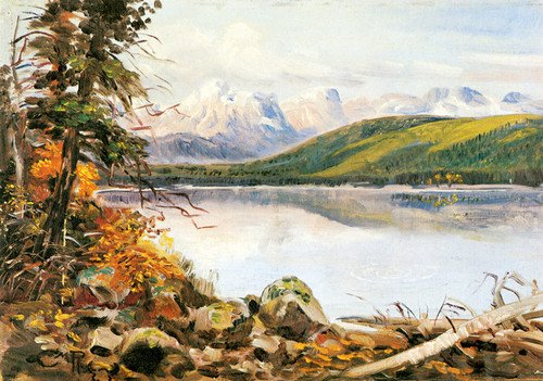 Art Prints of Landscape by Charles Marion Russell