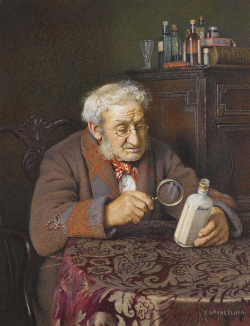 Art Prints of A Touch of Rheumatism by Charles Spencelayh