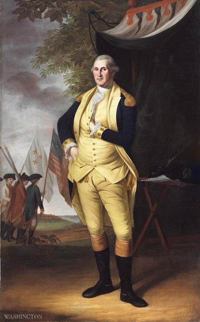 Art Prints of George Washington, 1784 by Charles Willson Peale