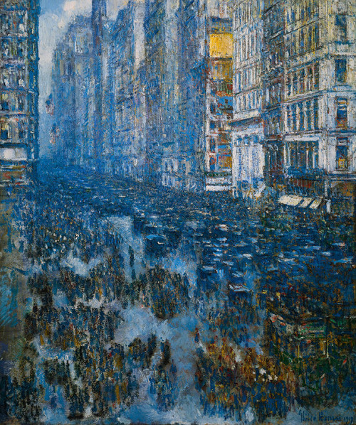 Art Prints of Fifth Avenue, 1919 by Childe Hassam