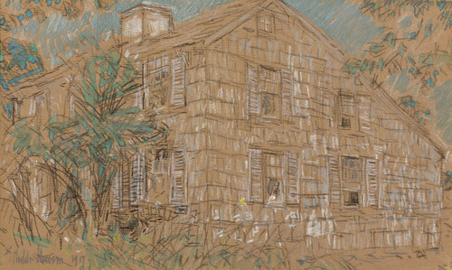 Art Prints of Home Sweet Home Cottage by Childe Hassam
