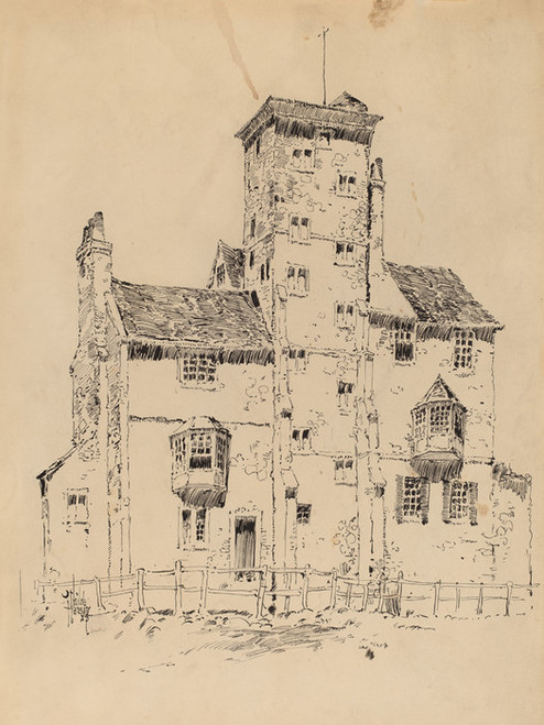 Art Prints of Norman Structure by Childe Hassam