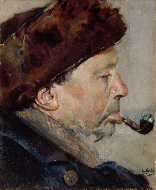 Art Prints of Niels Gaihede by Christian Krohg