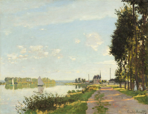 Art Prints of Argenteuil, 1872 by Claude Monet