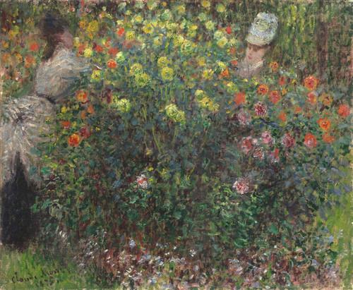 Art Prints of Ladies in Flowers by Claude Monet