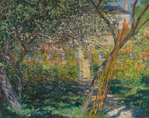 Art Prints of Le Jardin de Vetheuil by Claude Monet
